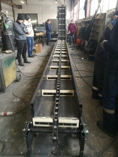 Скребковые транспортеры для опилок капиталка транспортер т4