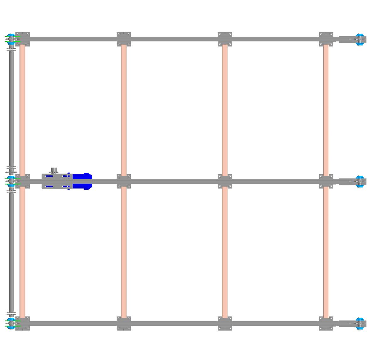 Эстакада с транспортерами металлические сетки конвейеры